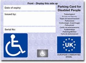 The 'new' blue badge